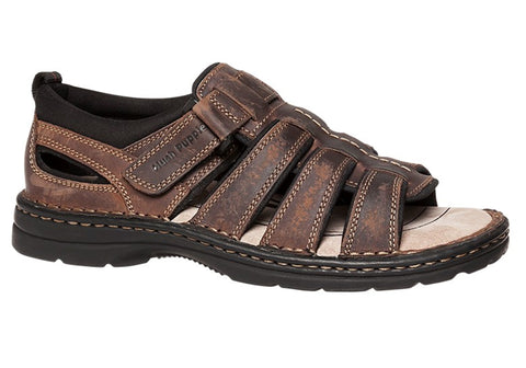 Hush Puppies Spartan Mens Leather Closed Back Sandals