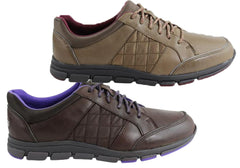 Rockport Rocsports Lite Quilt Laceup Womens Wide Fit Shoes