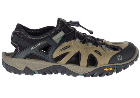 Merrell Mens All Out Blaze Sieve Comfortable Closed Toe Sandals