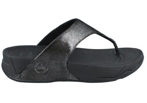 FitFlop Lulu Shimmersuede Womens Comfort Sandals
