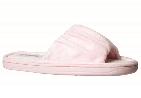 Grosby Invisible Rouched Womens Indoor Slippers