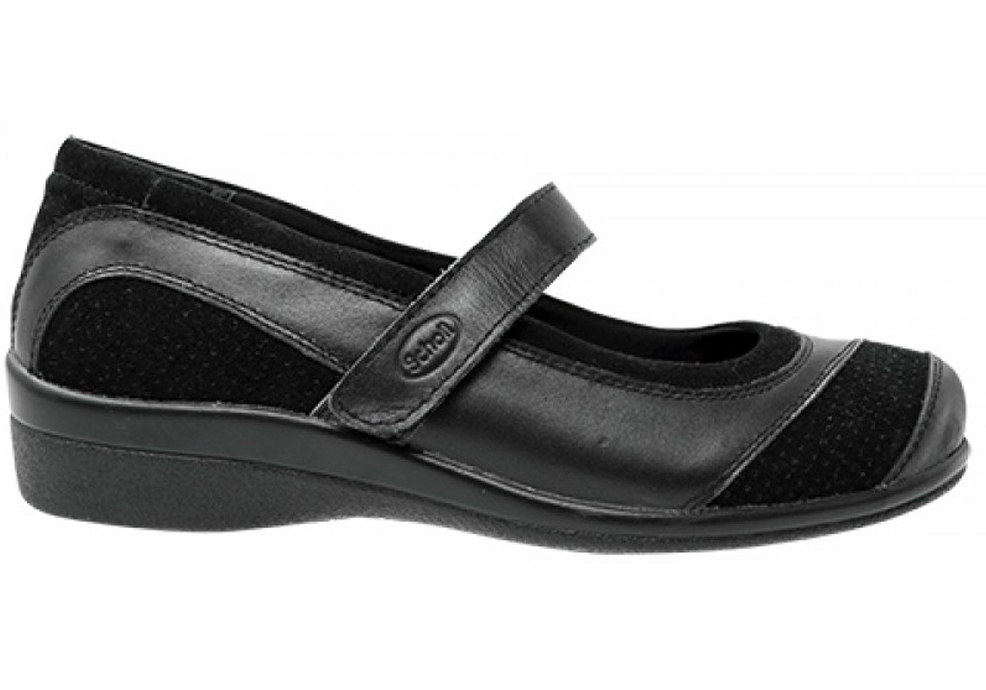 34713446b7ed Details about Scholl Orthaheel Compose Womens Supportive Mary Jane Comfort  Shoes