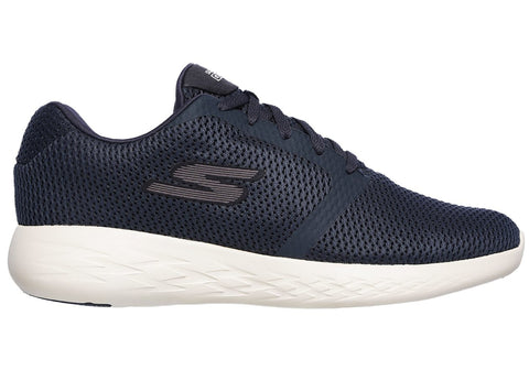 Skechers Go Run 600 Refine Mens Cushioned Lightweight Trainer Shoes