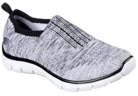 Skechers Empire Inside Look Womens Slip On Memory Foam Shoes