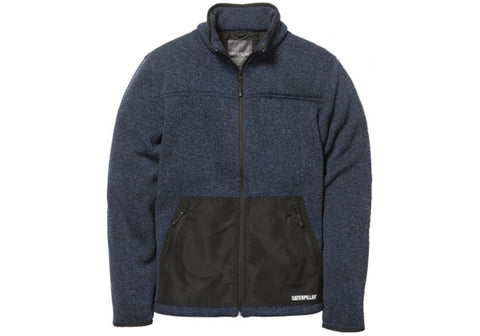 Caterpillar Mens Toulon Polar Fleece Warm Winter Jacket