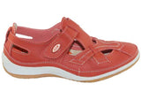 CC Resorts Jackie Womens Comfortable Leather Casual Everyday Shoes