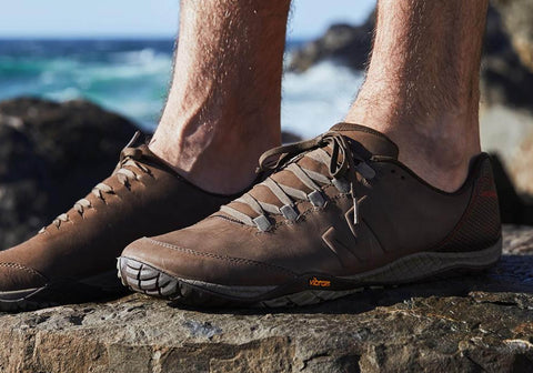c30ec4b09b Merrell Mens Parkway Emboss Lace Up Leather Casual Shoes | Brand ...