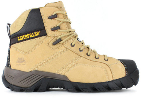 Caterpillar Argon Hi Mens Comfortable Durable Steel Toe Boots