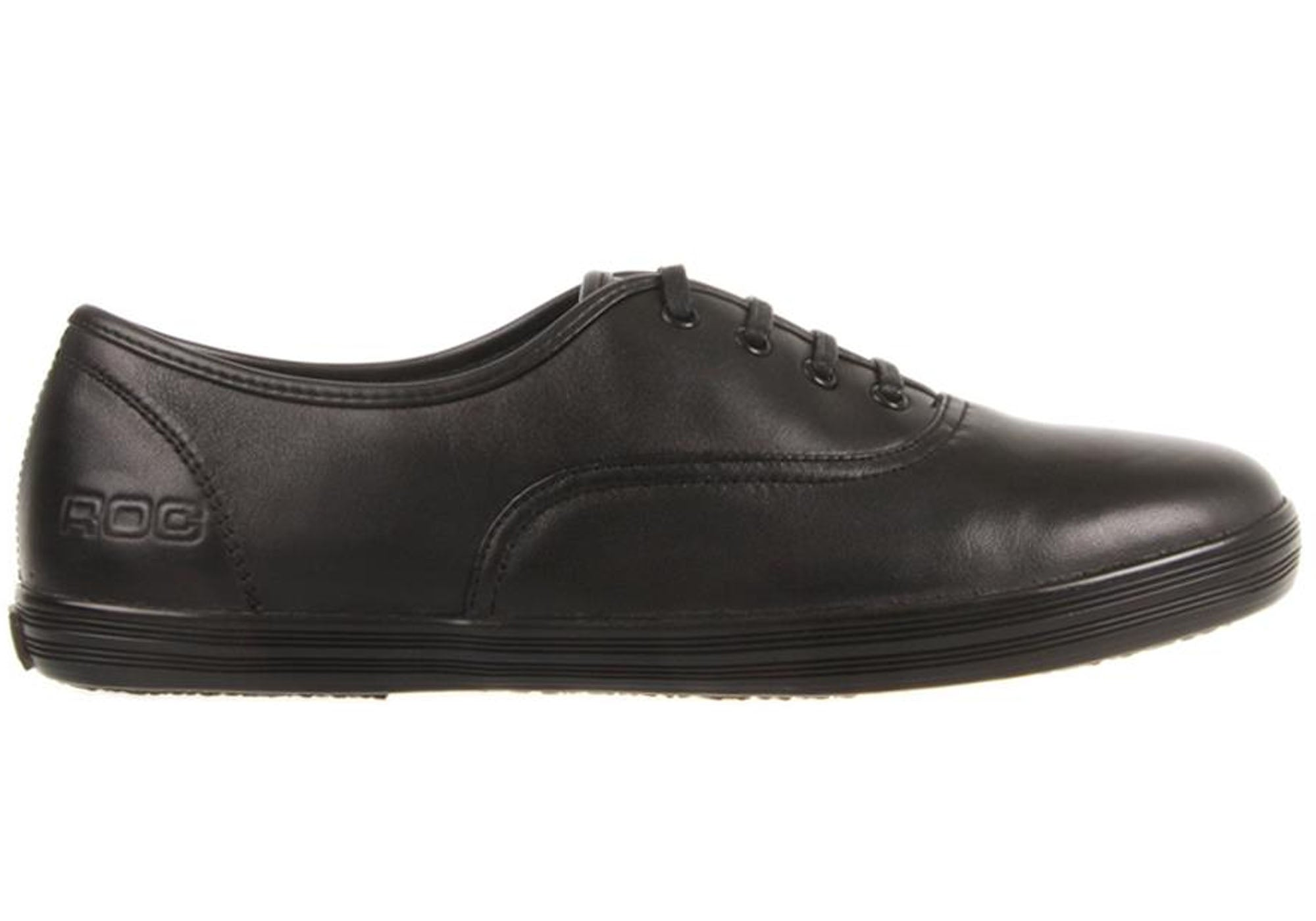 Home Roc Verve Junior and Senior Leather School Shoes. Black ... dd1d65ae7