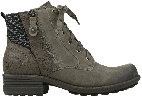 Planet Shoes Potsy Womens Comfortable Lace Up Ankle Boots