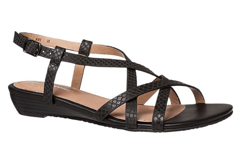 Hush Puppies Fifi Womens Strappy Leather Sandals