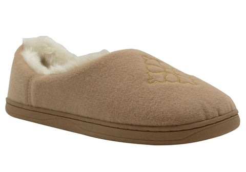 Grosby Invisible Emma Womens Comfortable Indoor Slippers