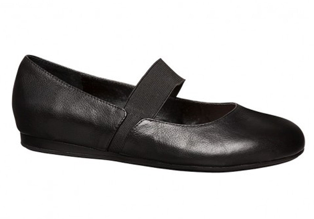 Hush Puppies Alissa Womens Leather Mary Jane Shoes