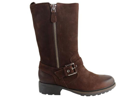 Rockport First Street Mid Boot Womens Leather Wide Fit Boots