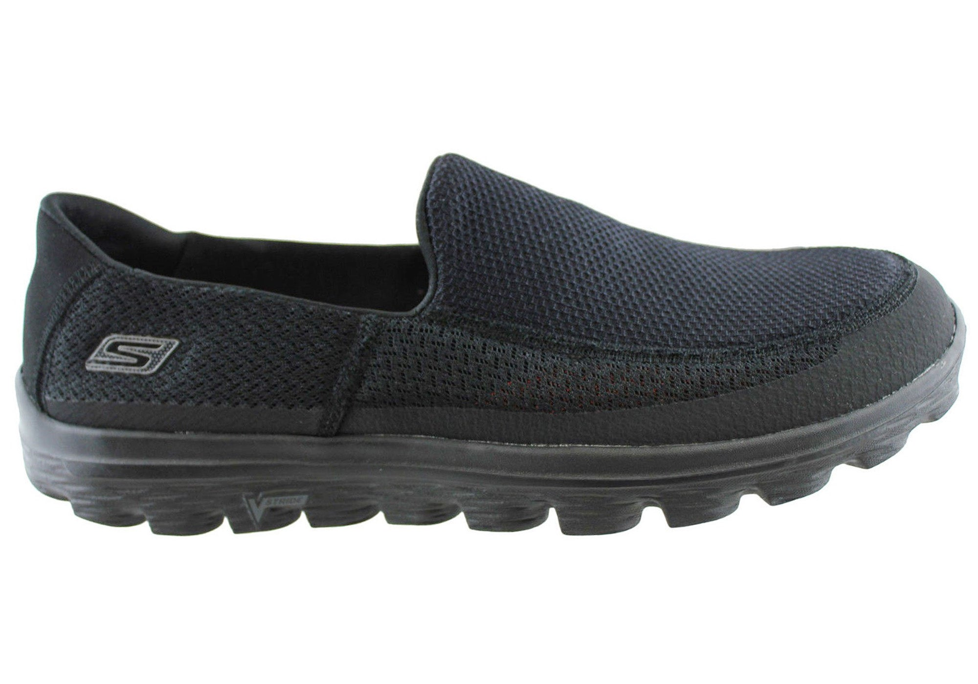 80f4825efeda Skechers Go Walk 2 Mens Comfortable Slip On Casual Shoes