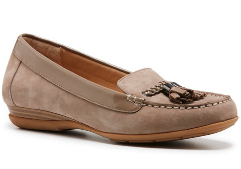 Hush Puppies Unite Womens Comfort Nubuck Leather Loafers