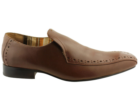 Apostle Expose Mens Leather Dress Shoes