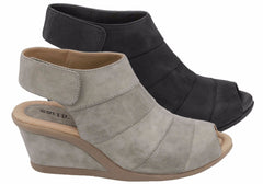 Earth Coriander Womens Comfortable Wedge Sandals