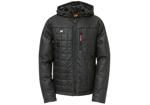 Caterpillar Mens Quilted Water Resistant Bomber Jacket