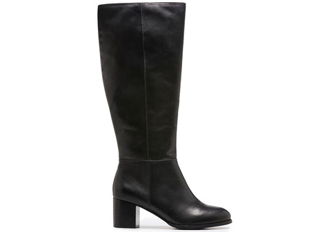 Hush Puppies Bethany Womens Leather Knee High Boots