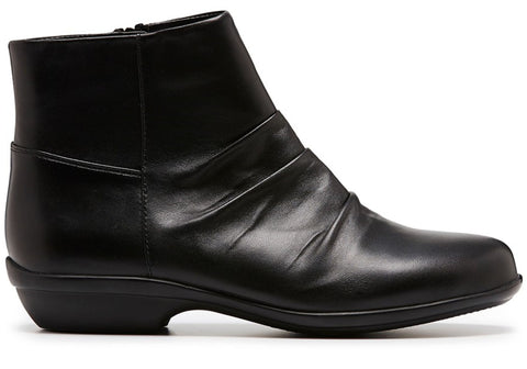 Hush Puppies Proven Womens Comfort Leather Flat Boots