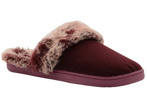 Grosby Invisible Cherie Womens Open Back Comfortable Slippers
