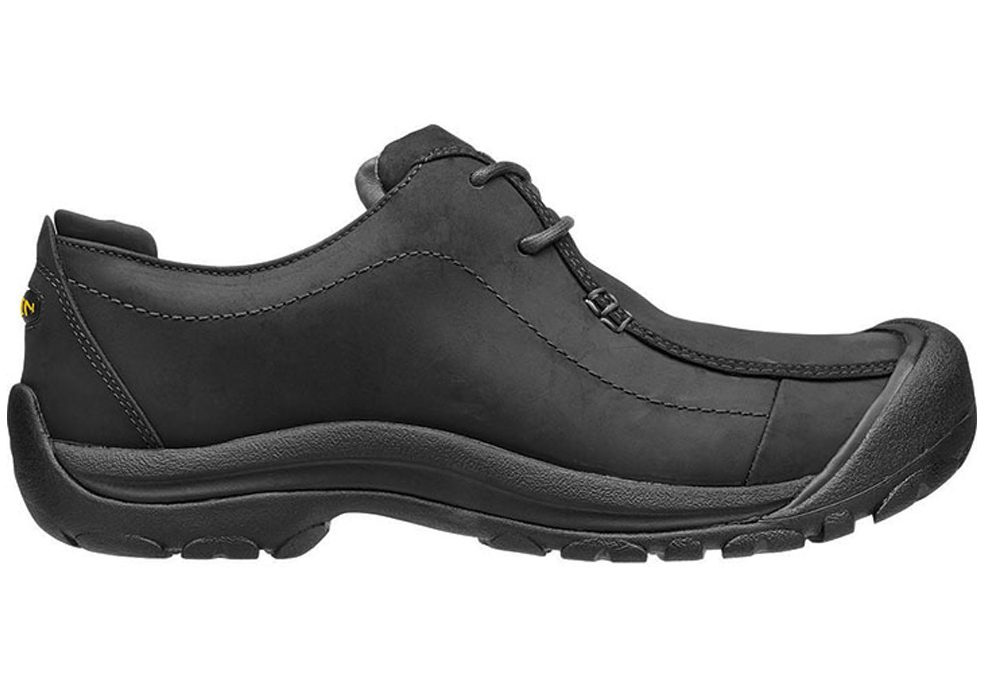 87e9f8744668 Keen Portsmouth II Mens Leather Lace up Wide Fit Shoes
