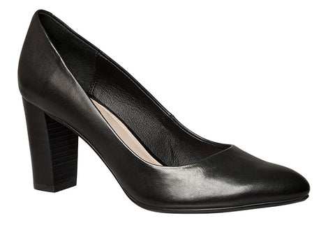 Hush Puppies Hallie Womens Leather Pumps
