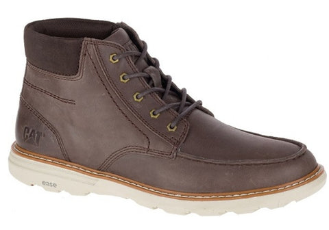 Caterpillar Duke Mens Leather Wide Fit Casual Lace Up Boots