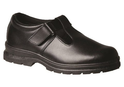 Grosby Ellen Junior Kids Leather Mary Jane School Shoes