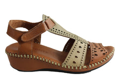 Orizonte Bayla Womens European Soft Leather Comfortable Sandals