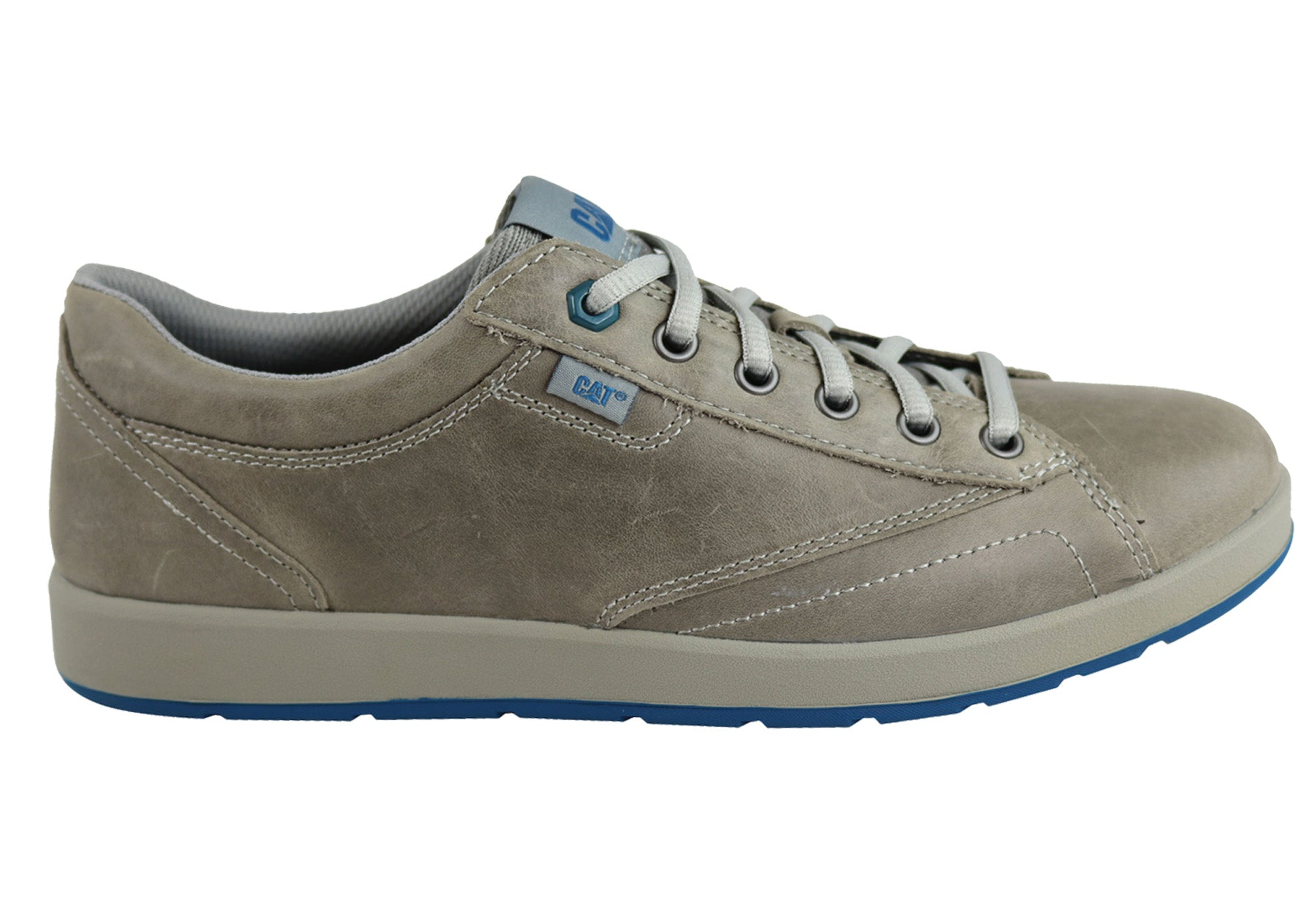 76e0f73dafef Caterpillar Abid Mens Casual Comfort Lace Up Wide Fit Shoes