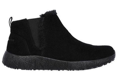 Skechers Burst Winter Lights Womens Memory Foam Ankle Boots
