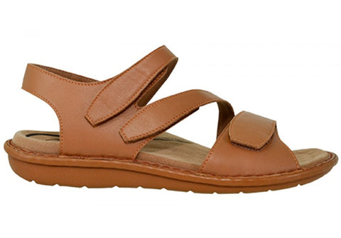 Scholl Orthaheel Impulse Womens Comfortable Supportive Leather Sandals