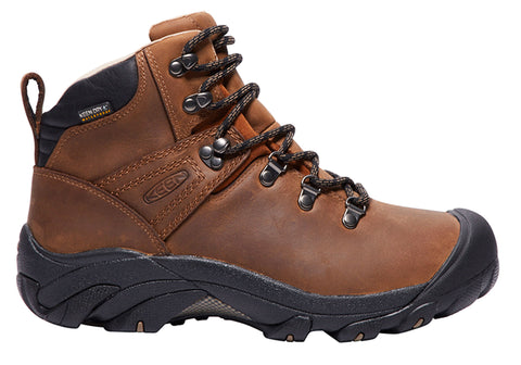 Keen Pyrenees Mens Comfortable Wide Fit Leather Lace Up Boots