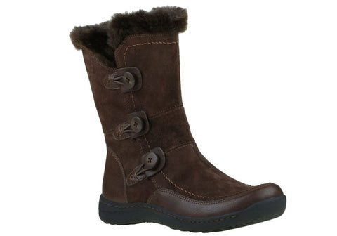 Planet Shoes Torn Womens Suede Mid Calf Comfort Boots