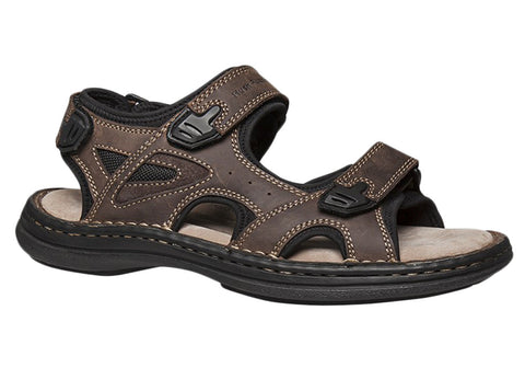 Hush Puppies Break Mens Leather Comfortable Sandals