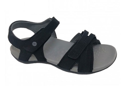 Scholl Orthaheel Amnesty Womens Comfort Sandals