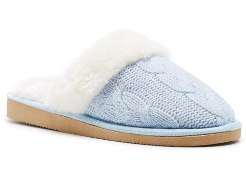 Grosby Kellie Womens Open Back Indoor Slippers
