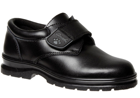 Grosby Excel Kids Leather Durable School Shoes