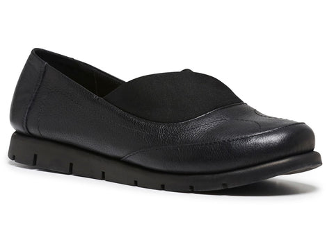 Hush Puppies Brant Womens Leather Comfortable Casual Flats