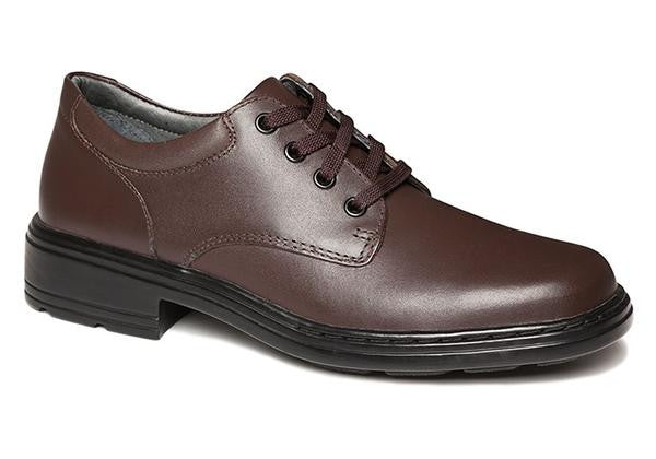 Clarks Infinity Senior Brown Leather School Shoes