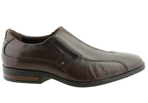 Florence Tate Mens Leather Comfort Dress Shoes