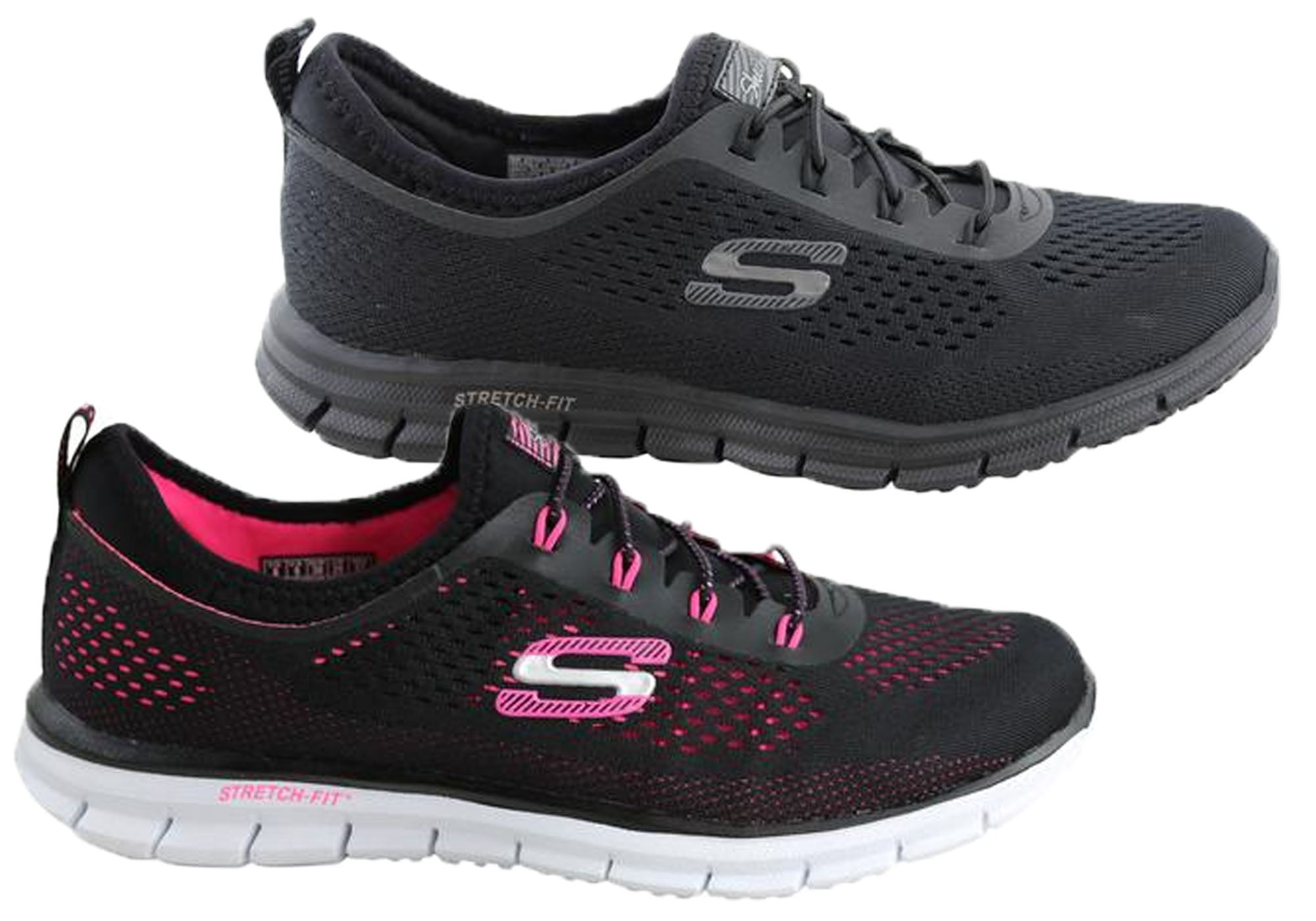 new product 23ba0 bd1a9 Details about Skechers Glider Harmony Womens Memory Foam Sneakers -  ShopShoesAU