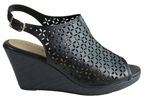 Modare Ultraconforto Hunter Womens Comfy Wedge Sandals Made In Brazil