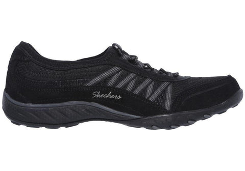 Skechers Womens Breathe Easy Point Taken Wide Fit Memory Foam Shoes