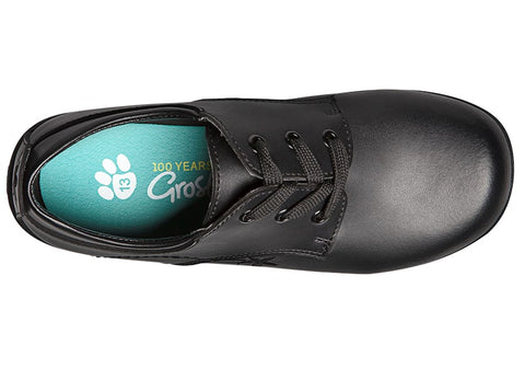 Grosby Jaclyn Girls Leather Lace Up School Shoes Brand House Direct