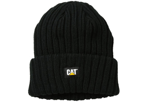 Caterpillar CAT Mens Rib Watch Cap Beanie