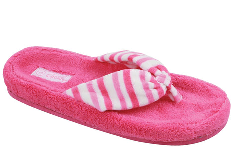 Grosby Breeze Womens Comfortable Indoor Thong Slippers