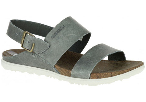 Merrell Womens Leather Around Town Backstrap Sandals